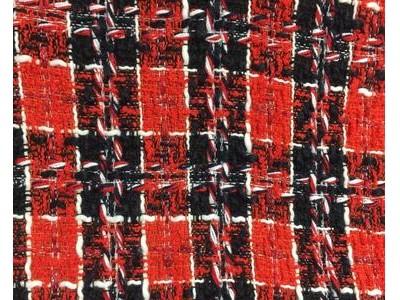 小香风、粗花呢、编织呢、小红格